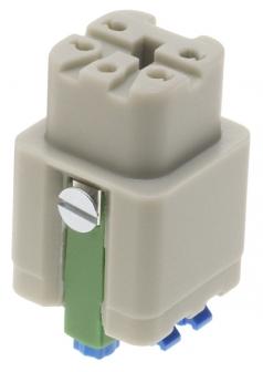 Han 4A Quick Lock Buchseneinsatz 0,5-2,5mm²