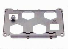 Han HC modular 350 frame 4 poles + 2 Han Q5/0