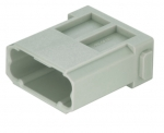 Han DD modul male insert, 0,14 - 2,5 mm², crimp