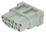 Han DD modul female insert, 0,14-2,5mm², crimp