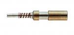 Han E fibre optic pin contact 1 mm POF