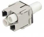 Han HV modul 40A male insert, 1,5-10mm², crimp