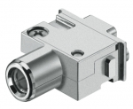 Han PE module, female, axial screw, 22 - 38 mm²