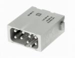 Han EE modul male, 0,25-1,5mm², quick lock