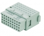 Han Full High Density modul female insert, 0,09 - 0,52 mm², crimp