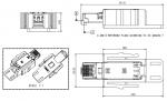 Han RJ Industrial RJ45 Gigalink Steckverbinderset, Kat. 6, AWG27-AWG22