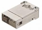 GigaBit module male insert, 0,09-0,52mm², (shield-GND) crimp