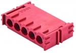 Han-Yellock modul, crimp termination, red