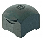 Han-Yellock 10 protection cover for bulkhead mounted housings