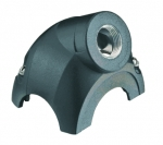 Han-Yellock 30 shell, angled, 1xM32