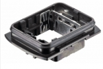 Han-Yellock 30 bulkhead housing, IP65, IP67