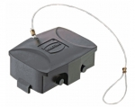Han-Eco 10B Protection cover for bulkhead-, surface mounted and cable to cable housings, with fixing cord