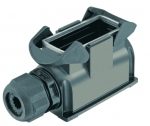 Han-Eco 16B surface mounted housing, side entry, 1xM40, outdoor