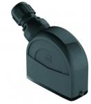 Han-Eco A 16A hood, integr. cable gland, side entry, 1xM20