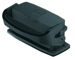Han-Eco A 16A Bulkhead mounted housing, with thermo-plastic cover