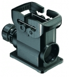 Han-Eco B 10B surface mounted housing, integr. cable gland, side entry, 1xM32