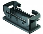 Han-Eco B 24B Bulkhead mounted housing, double locking lever