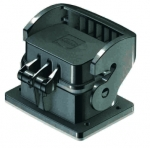 Han-Eco B 6B Bulkhead mounted housing with thermo-plastic cover, outdoor
