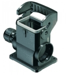 Han-Eco B 6B surface mounted housing, integr. cable gland, side entry, 1xM20