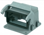 Han EMV 10B housing, surface mounting