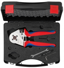 Four-indent crimping tool MicroCrimp