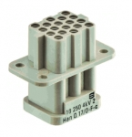 Han Q 17 female insert Crimp termination, 0,14 - 2,5 mm²