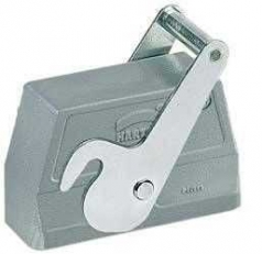 Han 24B hood, side entry, 1xM40, central locking lever (on the hood), high construction