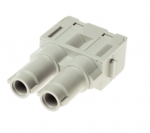Han 70 A module, female, axial screw, 14-22mm²