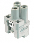 Han Q 2/0 female insert crimp termination, 1,5 - 10 mm²