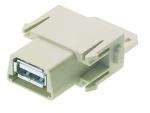 Han USB 2.0 modul female insert