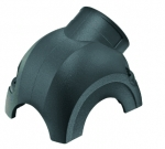 Han-Yellock 30 shell, side entry, 1xM25