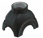 Han-Yellock 30 shell, push button, top entry, 1xM20