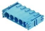 Han-Yellock modul, crimp termination, blue