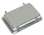Han 32A protection cover for bulkhead and surface mounted housing, metal