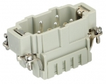 Han 3 Hv ES male insert, 0,14-2,5mm², cage clamp