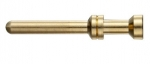 Han A/E pin contact, 1 mm², golden plated