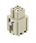 Han 3A Quick Lock female insert 0,5 - 2,5 mm²