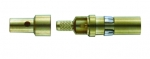 coaxial pin contact, male, 50Ω acc. to DIN41626