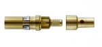 coaxial pin contact 75Ω acc. to DIN41626