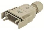 HAN-Modular ECO plastic hood IP65 without PE