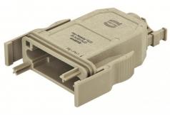 HAN-Modular ECO plastic hood IP20 with PE