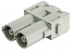 Han 70 A module, male, axial screw, 14-22mm²