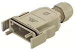 HAN-Modular ECO plastic hood IP65 with PE