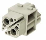 Han 100 A module, female, crimp, 10-35mm²