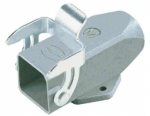 Han 3A surface mounted housing, top entry, 1xM20