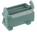 Han 16A surface mounted housing, side entry, 1xM25