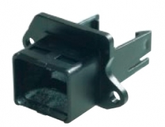 Han PushPull Anbaugehäuse Compact mit Halteclip, für HIFF-Modul