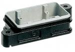 Han 6B HPR housing bulkhead mounting, toggle locking system
