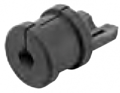 Cable entry gland 3 - 4 mm for panel feed through housings