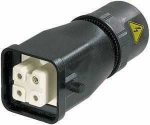 Han 3A female connector with HARAX terminal